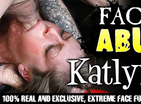 Facial Abuse Destroys Katlyn Snow