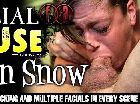 Katlyn Snow Gets Face Fucked on Facial Abuse